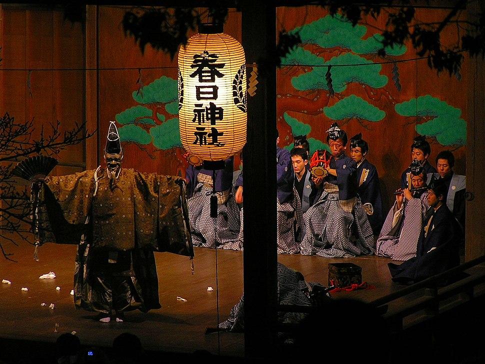 春日神社ー篠山ー翁奉納P1011774