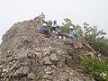 鋸岳第一高点 2014-07-21 - Mt. Nokogiri, the Highest Point - panoramio.jpg