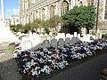 -2019-09-18 Flowers in St Peter and St Paul churchyard, Cromer.JPG
