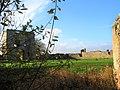 -2020-12-01 View across the inner court from the north east tower, Baconsthorpe Castle.JPG