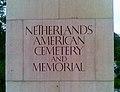 001. Netherlands American Cemetery, Einfahrt.jpg
