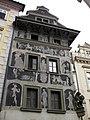 018 Dům U Minuty (casa del Minut), Staroměstské Náměstí.jpg