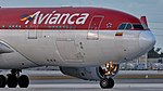 02102018 Avianca N974AV A332 KMIA NOSE NAEDIT (39866717974).jpg