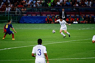 Park Ji-sung - Park during the 2009 UEFA Champions League Final on 27 May 2009