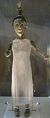 statue de Brigid du Ménez-Hom