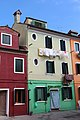 0 Burano, façade de la maison sise Calle Broetta 352 à Burano.JPG