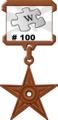100 article Barnstar.png