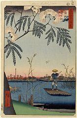 The Ayase River and Kanegafuchi