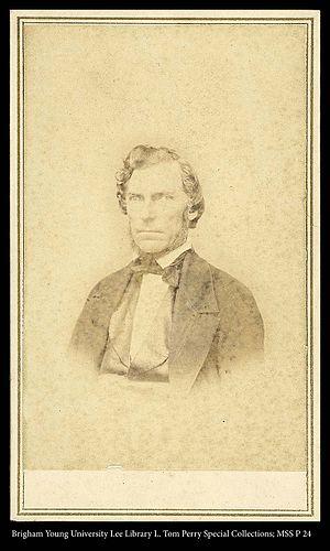 Daniel H. Wells - Image: 118 MSS P 24 B2 F1