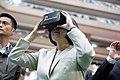 12.03 總統出席「105資訊月」開幕暨頒獎典禮,並於逛展場時體驗虛擬實境 (30578105113).jpg