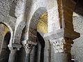 124 Sant Miquel de Terrassa, capitells de les columnes que sostenen la cúpula.JPG