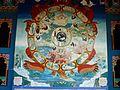 134 Temple des mille Bouddhas La roue du Samsara.jpg