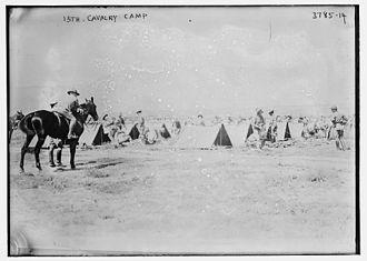13th Cavalry Regiment - 13th Cavalry Regiment (United States) in 1915