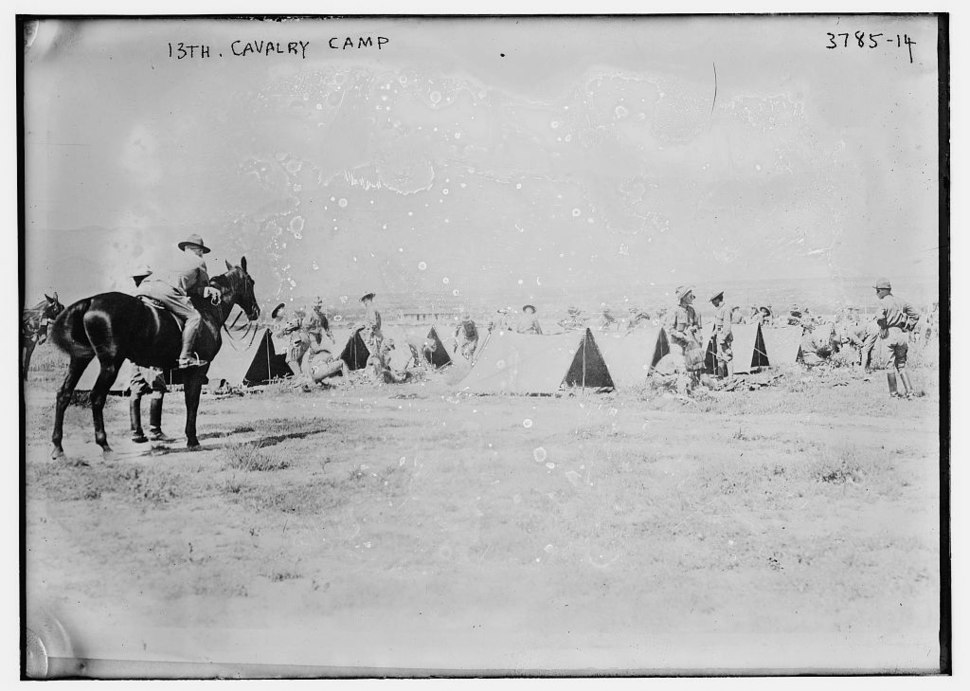 13th Cavalry Regiment (United States) in 1915