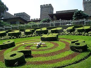 Gardaland - The Castle garden