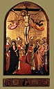 14th-century unknown painters - Crucifixion with the Virgin and Saints - WGA23913.jpg