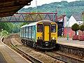 150280 Penarth to Bargoed 2D42 at Caerphilly (34176966574).jpg