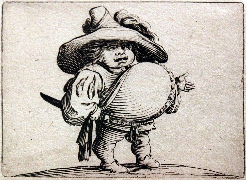 1620 Callot Der Zwerg mit dem dicken Bauch anagoria