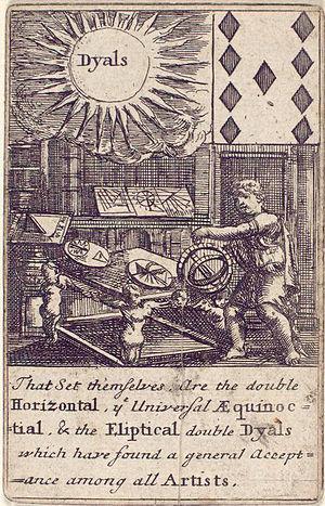 History of engineering - Image: 1702 Nine of diamonds Dyals