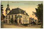 17046-Oelsnitz-1913-Bahnhofstraße und Postamt-Brück & Sohn Kunstverlag.jpg