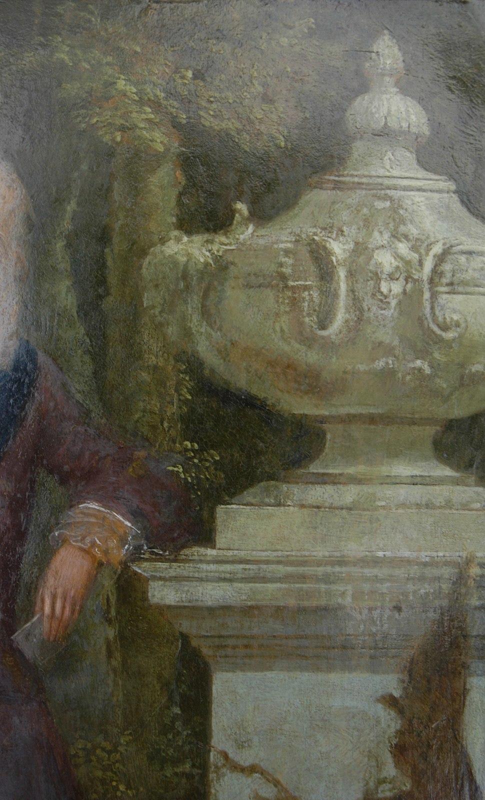 1720s English fantasy garden urn