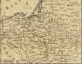 1757 Grodno detail of map Russians March to Prussia BPL 14326.png