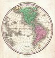 1827 Finley Map of the Western Hemisphere (North America, South America) - Geographicus - WesternHemisphere-finley-1827.jpg