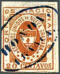 1861 20c EU de Nueva Granada blue Honda Franca Mi12.jpg