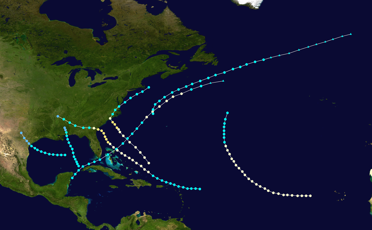 1881 Atlantic hurricane season