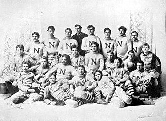 1894 Nebraska Bugeaters football team - Image: 1894 Nebraska Cornhuskers football team