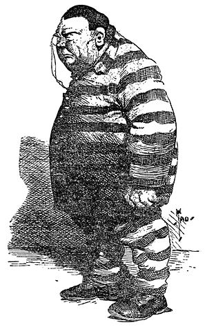 Charles Francis Murphy - Murphy caricatured in William Randolph Hearst's New York Journal (November 10, 1905)