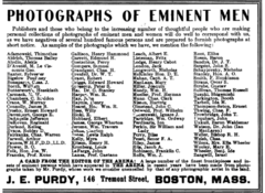1907 J E Purdy advert 146 Tremont Street in Boston.png
