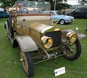 Vulcan (motor vehicles) - 2-seater 1911 15.9hp 2.4-litres