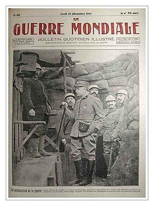 Military interpreter (France) - Interpreter-officer Hansi (Jean-Jacques Waltz) in 1915