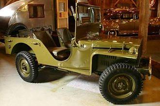 American Austin Car Company - Early Jeep