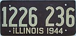 1944 Illinois passenger license plate.jpg
