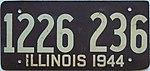 1944 Illinois passenger license plate.jpg