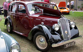 Standard Motor Company - 1948 Fourteen 4-door saloon