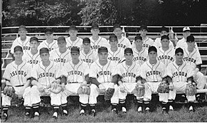 1954 Missouri Tigers baseball team - Team Photo