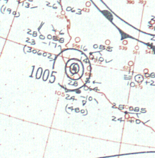 1959 Mexico hurricane analysis 27 Oct 1959.png