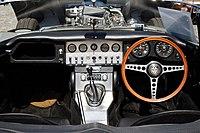 1962 Jaguar E-Type Series 1 Roadster 3.8 litre at Horsham West Sussex England.jpg