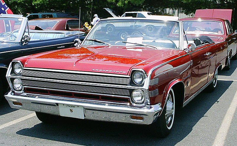 800px-1966_AMC_Ambassador_red_convertible_in_MD