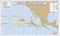 1966 Pacific hurricane season map.png