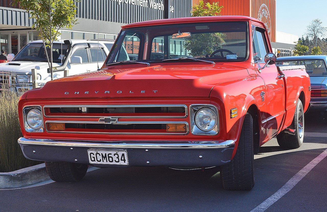 All Chevy chevy c10 wiki : File:1968 Chevrolet C10 (33979382674).jpg - Wikimedia Commons