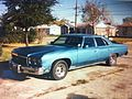 1976 Chevrolet Impala with aftermarket metallic blue paint 2014-02-15 12-57.jpg