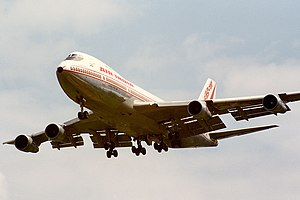 Air India Flight 182 - Image: 1985 06 10 VT EFO Air India EGLL