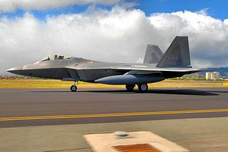 19th Fighter Squadron - Image: 19th Fighter Squadron Lockheed Martin F 22A LRIP Lot 3 Block 20 Raptor 03 4045