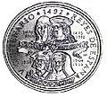 1 песо. Куба. 1992. Короли Испании - Фердинанд V и Изабелла I, Хуана I и Филипп I.jpg