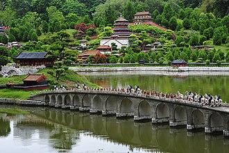 Miniature park - Summer Palace in Splendid China miniature park, Shenzhen, China