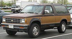 Chevrolet S-10 Blazer (2-Door)